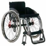 Wózek inwalidzki dla osób aktywnych