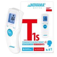 Termometr bezdotykowy Novama White